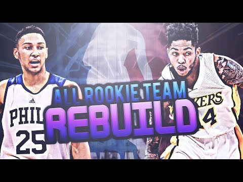 2016 ALL ROOKIE TEAM REBUILD CHALLENGE!! NBA 2K17 MY LEAGUE