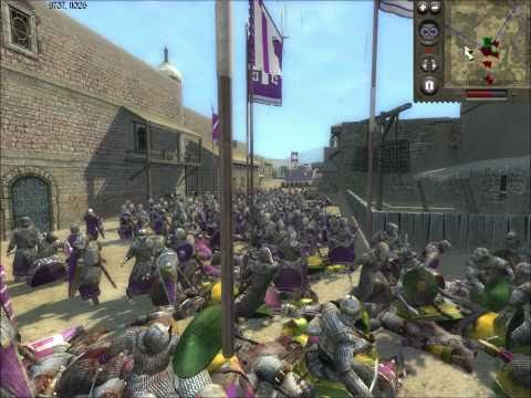 Medieval II Total War Online Battle #60: Byzantines vs the Turks (siege)