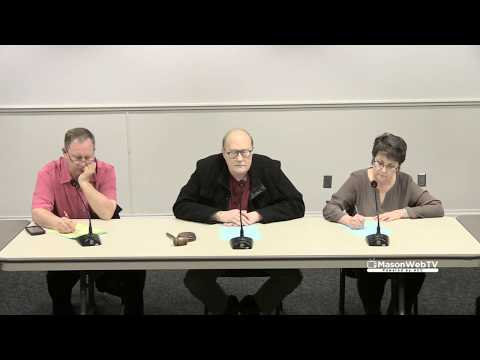 Shelton City Commission Special Meeting March 13, 2018