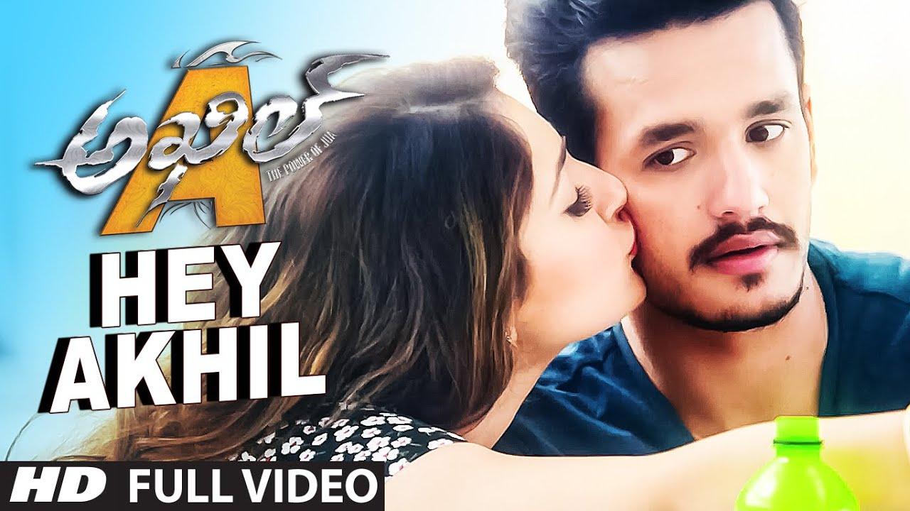 Download HeyAkhil Full Video Song || Akhil - The Power Of Jua || AkhilAkkineni,Sayesha
