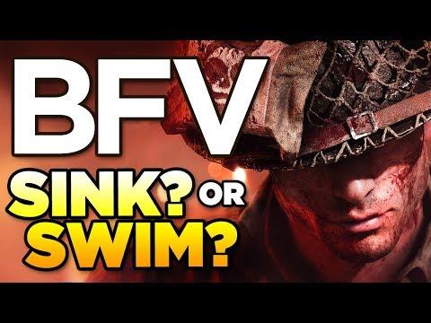 BATTLEFIELD V - SINK OR SWIM? | BFV Launch Week - BETA Gameplay thumbnail