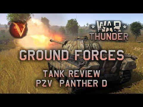 War Thunder - Panther D Tank Review (Pt-Br)
