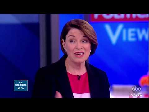 Sen. Amy Klobuchar 'Extremely Concerned' Abortion Bans Will Overthrow Roe v. Wade | The View