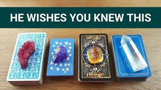 WHAT HE REALLY WANTS YOU TO KNOW ❤️ *Pick A Card* Love Tarot CHARM Reading Singles Twin Flame Crush