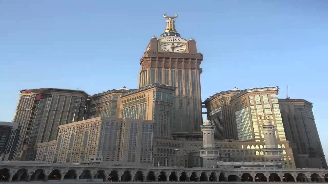 برج الساعة في مكة Youtube