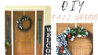 DIY FALL WREATH | FALL DECOR | 2018