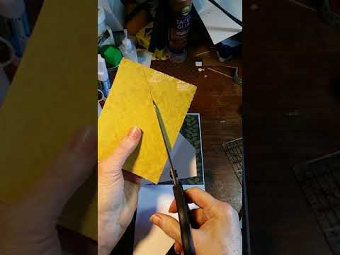 Double pocket card journal insert
