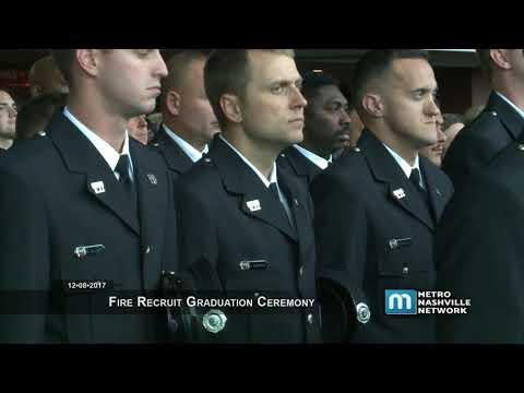 12/08/17 Nashville Fire Department Graduation
