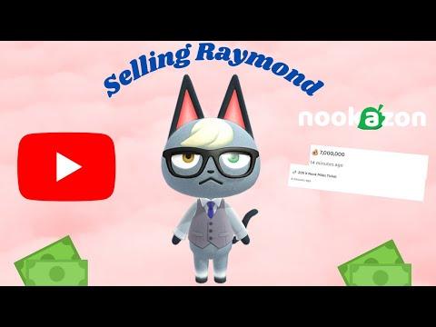 Selling RAYMOND On Nookazon (3,000 NMT?)