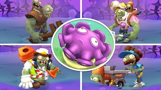 Plants vs. Zombies 3 - Gameplay Walkthrough Part 33 - Gloom Shroom vs Gargantuar Boss