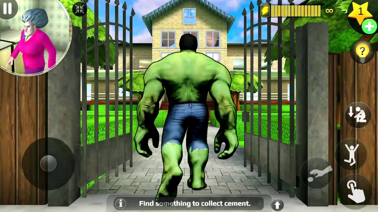 Download HULK Enter In Miss T House - Scary Teacher 3d New Prank   Funny Android game