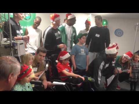 ESPN Boston: Celtics Carolers