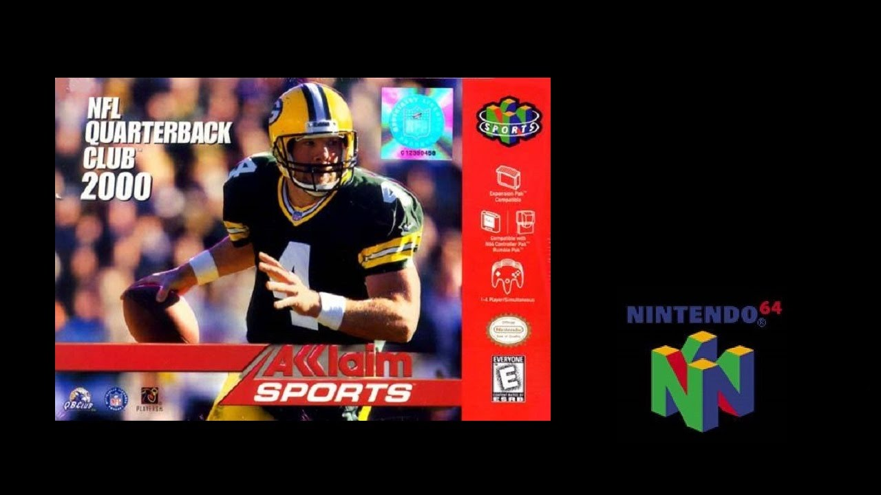 Nfl Qb Club 2000 Nintendo 64 Rams Vs Titans Gameplay