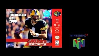NFL QB Club 2000 (Nintendo 64) Rams vs Titans (Gameplay) The N64 Files