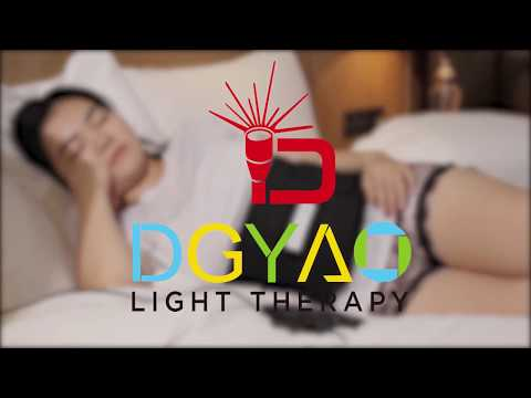 DGYAO Near Infrared Red Light Led Therapy Wrap Back Pain Relief Light Pads Heating Pads for Pain