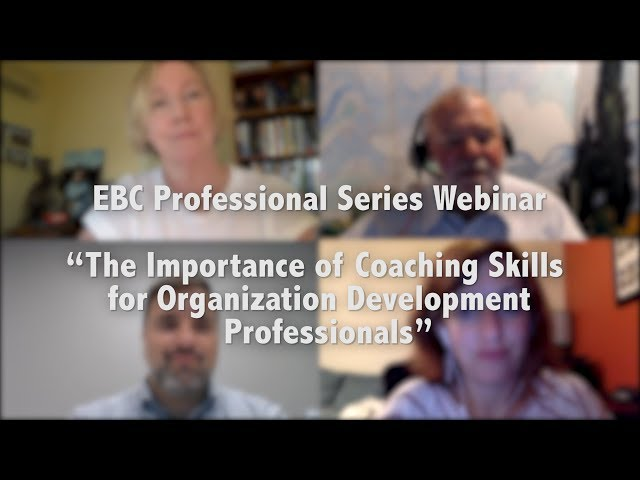 The Importance of #Coaching Skills for Organization Development Professionals