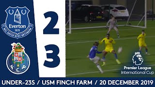 U23 HIGHLIGHTS: EVERTON 2-3 FC PORTO | ANTONY EVANS STRIKES TWICE IN PL INTERNATIONAL CUP