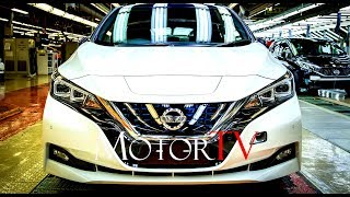 CAR FACTORY : ALL NEW 2018 NISSAN LEAF PRODUCTION l FULL ASSEMBLY LINE (NO MUSIC)