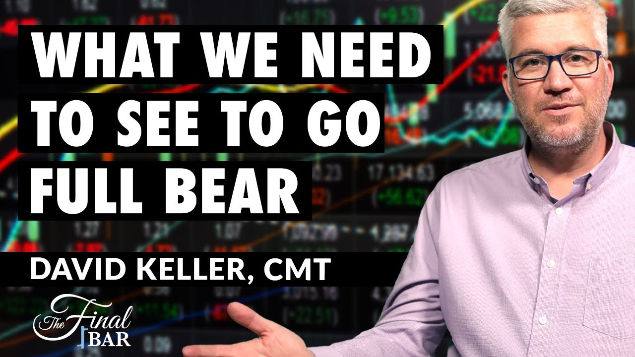 Download What We Need to See to Go Full Bear | David Keller, CMT | The Final Bar (09.15.20)