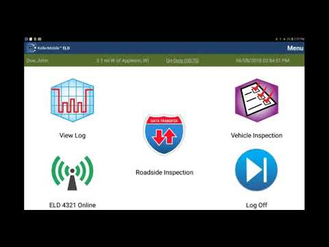 Android™ Alerts And Notifications - KellerMobile® ELD