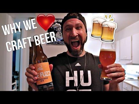 WHY THE CRAFT BEER COMMUNITY IS THE BEST | Beer Mail | Bridge Brewing The Fuzz Milkshake IPA