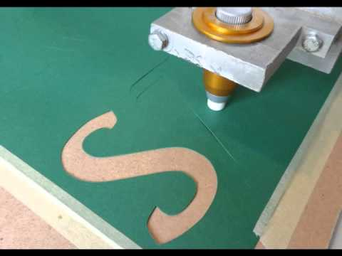 CNC paper cutting Cutting paper cutter adapter
