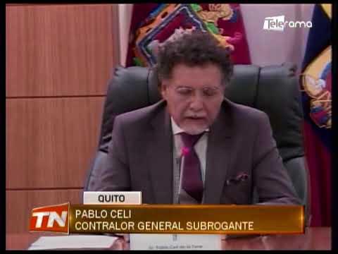 Correa señalado por segunda ocasión en informe de contraloría