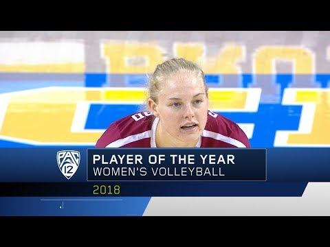 Stanford's Kathryn Plummer repeats as Pac-12 Women's Volleyball Player of the Year