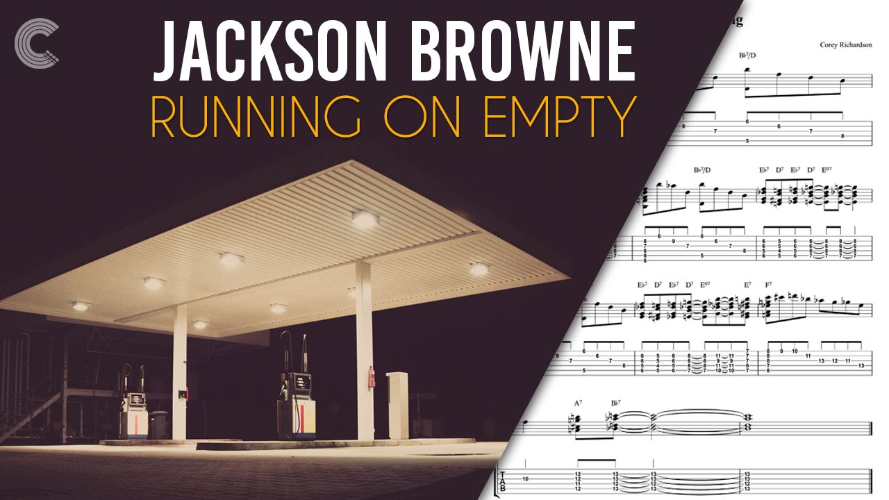 Jackson Browne Married Great flute - running on empty - jackson browne - sheet music, chords