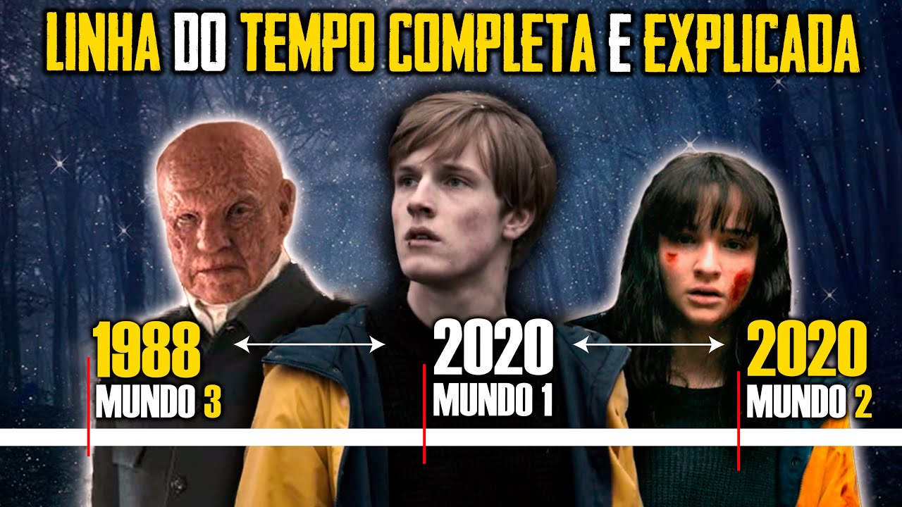 DARK 3 Temporada: Linha do tempo EXPLICADA + Final + Referencias Donnie Darko