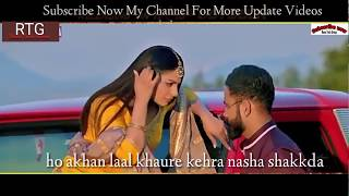 Mucch whatsapp status - Ammy Virk , Rubina , Amrit Maan|Aate Di Chidi | Latest Songs 2018