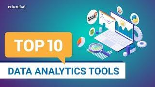 Top 10 Data Analytics Tools 2020 | Best Tools For Data Analysis | Data Analytics Training | Edureka