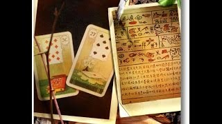 Lenormand Cards are Read Like Pictographs, Not Tarot Cards