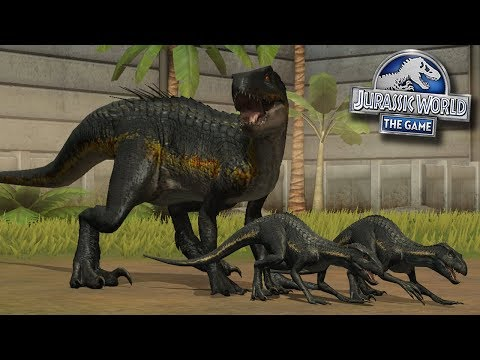 MOAR INDORAPTORS!!! | Jurassic World - The Game - Ep404 HD