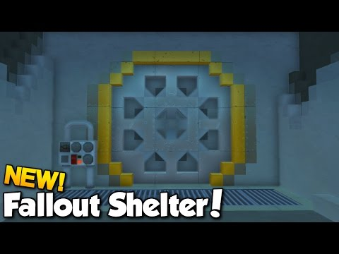 New Fallout Shelter! - Scrap Mechanic Fallout Shelter Project [Ep.1]
