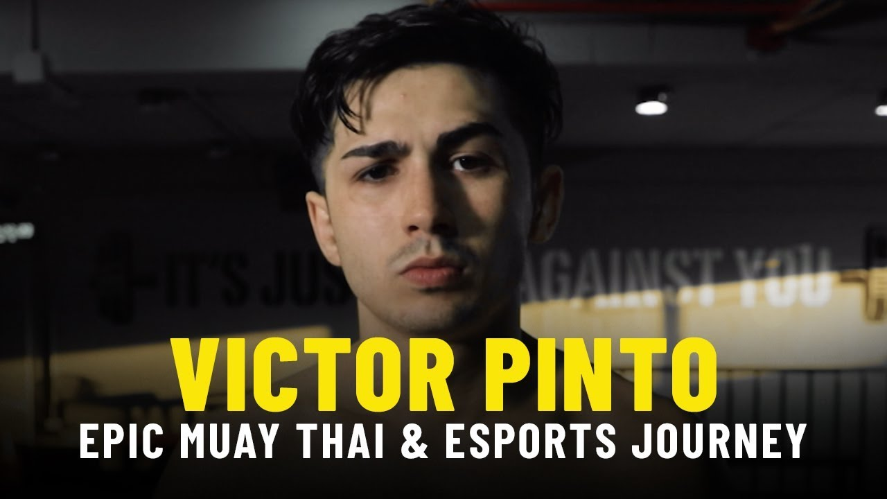 Victor Pinto's Epic Muay Thai & Esports Journey | ONE Feature