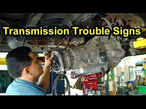 Transmission Trouble Signs Checking Fluid Level, Color  Smell