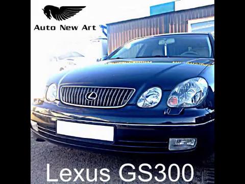 Lexus gs300 (2003 / 3.0i) установка Sport системы