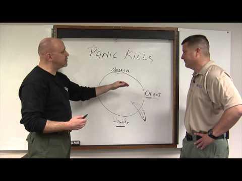 Train to Avoid Panic: Defensive Tactics Technique
