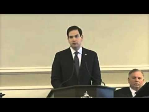 Marco Addresses The New Hampshire House Of Representatives   Marco Rubio for President