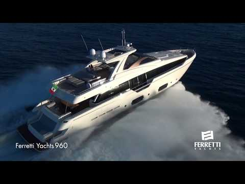 Ferretti Group Luxury Yachts Fleet