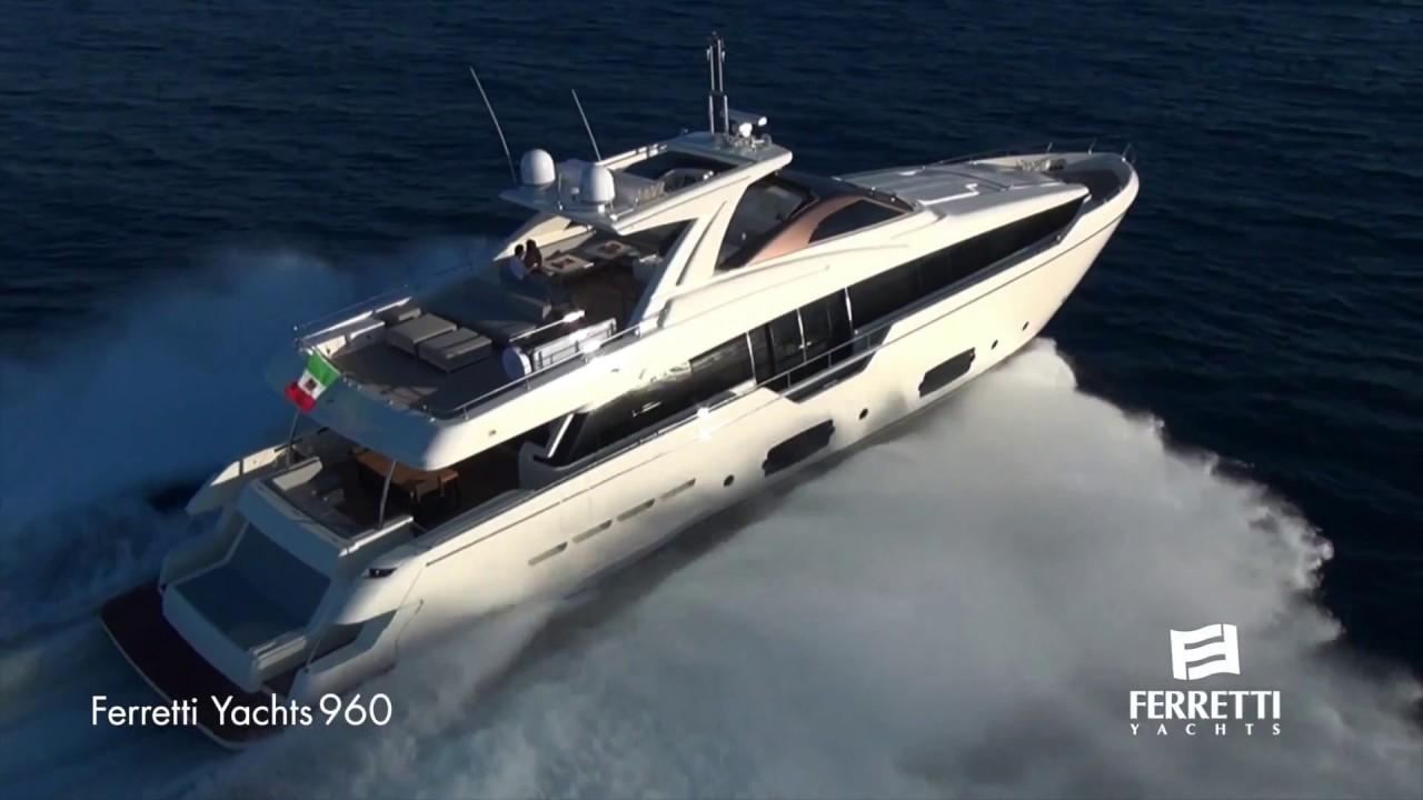 Ferretti Group Luxury Yachts Fleet   YouTube