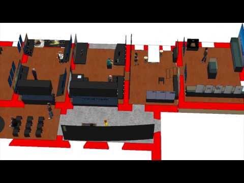 CEDNEA 3, progetto 3/'14, animazione 3d