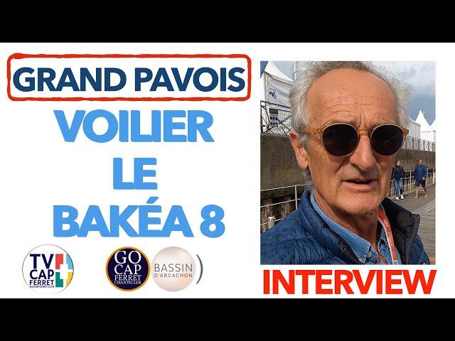 Grand Pavois La Rochelle 2021 #14 Martin nous présente le BAKEA 8, un voilier quillard ingénieux !