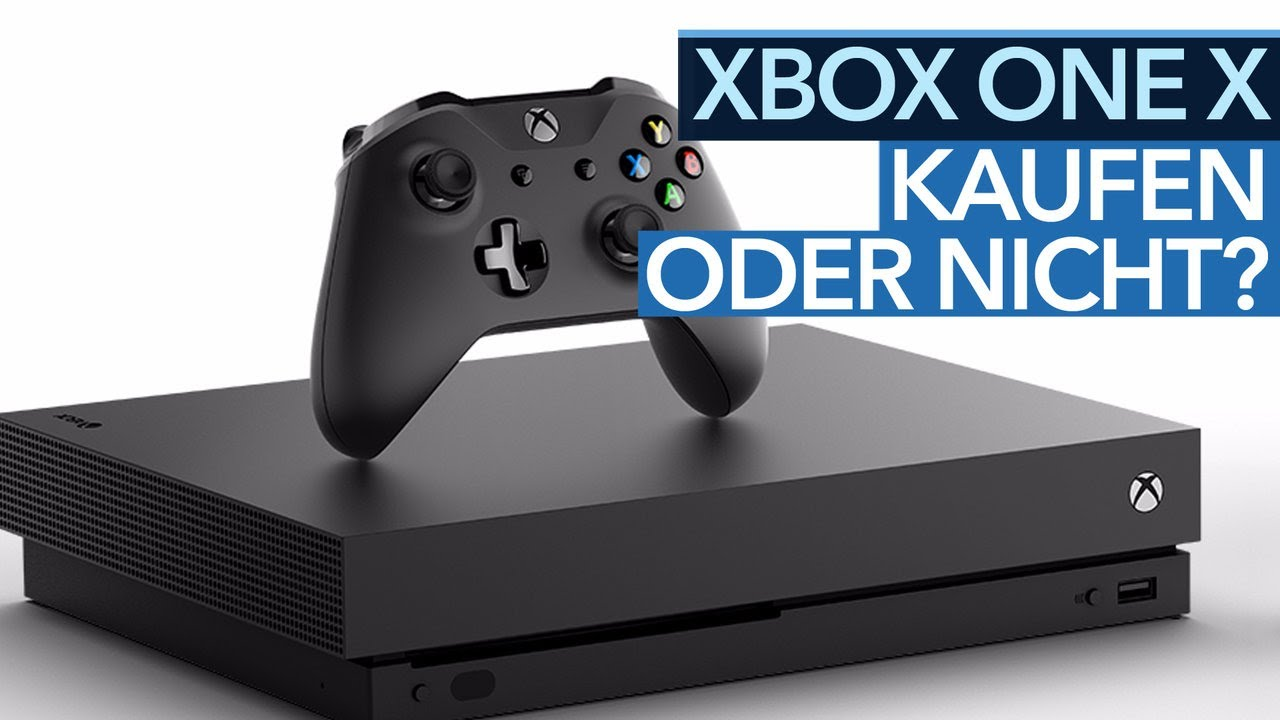 soll man die neue xbox one x kaufen youtube. Black Bedroom Furniture Sets. Home Design Ideas