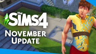 EVERYTHING coming to The Sims 4 for FREE! (November 2020 Update)