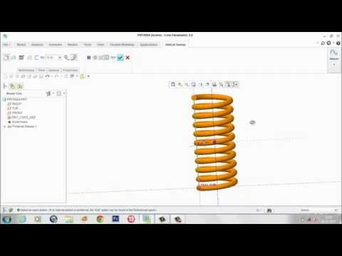 How to use Creo Parametric 2 0 to model a Sphere by Sourav Dan