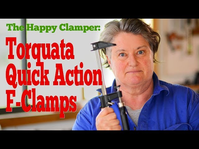 The Happy Clamper - Quick Action F-Clamps!