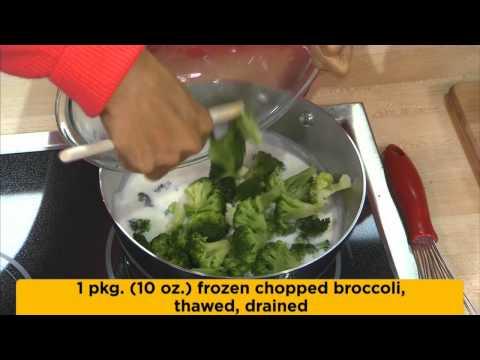 VELVEETA Cheesy Broccoli Soup
