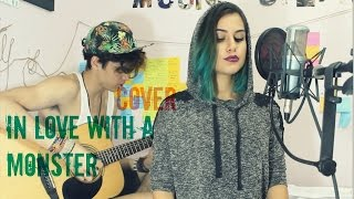 fifth harmony i m in love with a monster live cover by lana lubany